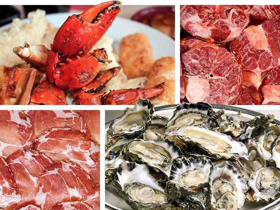 The greatest sources of zinc come from oysters, beef shanks, crab, and pork shoulder, all of which are foods that don't typically get eaten all that often.