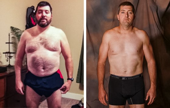Losing Weight And Gaining Muscle Are Both Possible Andrew Balliet Lost 32 Poundanaged To Become Stronger Than Ever In The Gym