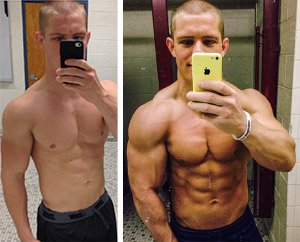 gaining muscle and losing fat on steroids