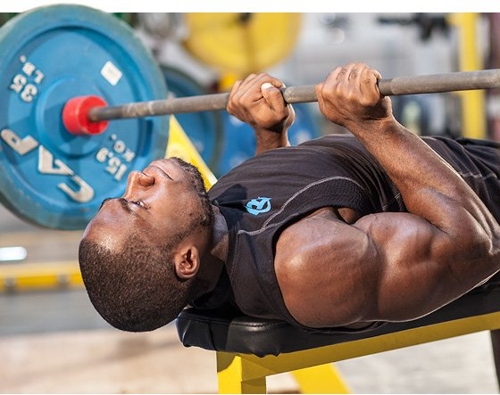 Tightly Clenching Your Thumb Around A Bar Steals Some Of The Tension Away From Triceps