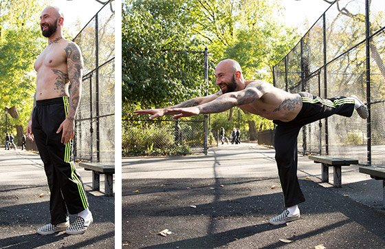 Wheels of Steel Bodyweight Legs Workout
