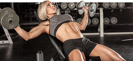 It's weight training that gives a woman sexy arms, tight glutes, shapely calves, a flat stomach and an overall appealing shape.