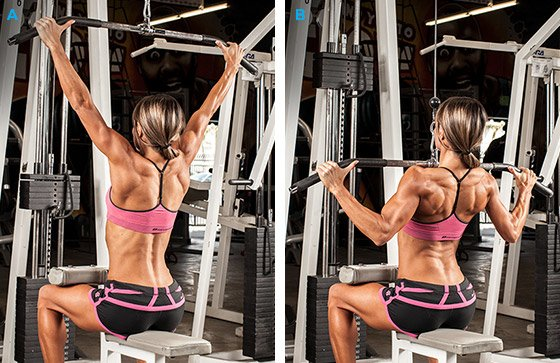 Image result for cable lat pulldowns women