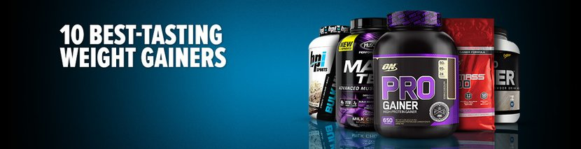 10 Best-Tasting Weight Gainers