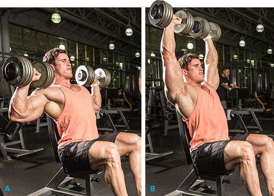 8 One Arm Cable Lateral Raise