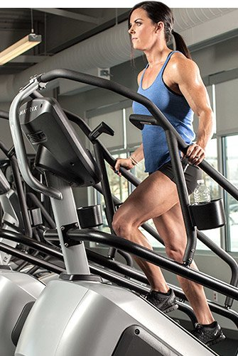 I recommend the Stairmaster for those who want to put the accent on tightening their glutes.