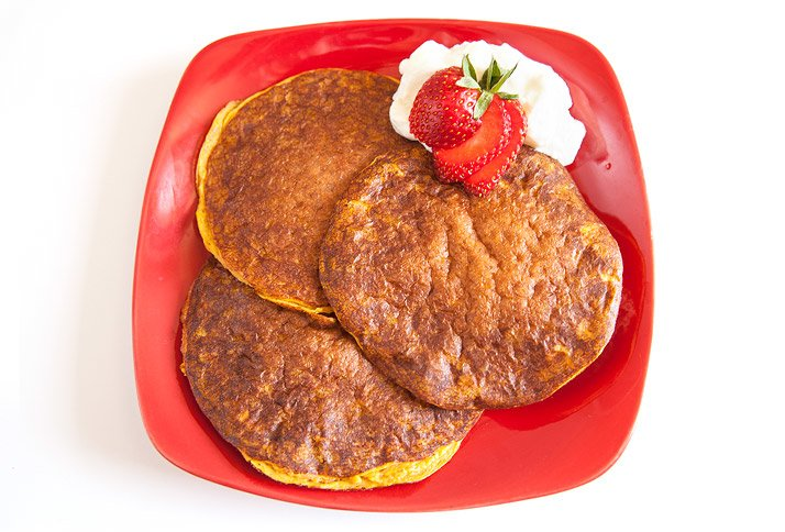 20 best healthy protein pancake recipes pumpkin protein pancakes ccuart Images