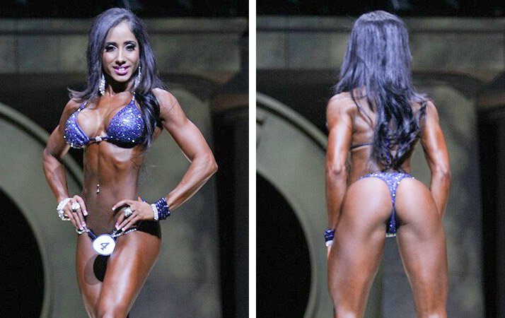 She Is One Of The Shortest Competitors On Stage Yet Made A Huge Impact Standing Next To The Taller Ladies Of The Division