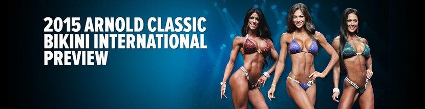 2015 Arnold Classic Bikini International Preview