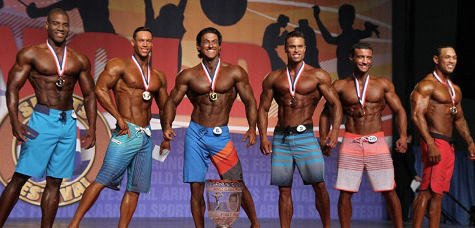 2015 Arnold Classic Men S Physique Sadik Hadzovic Wins
