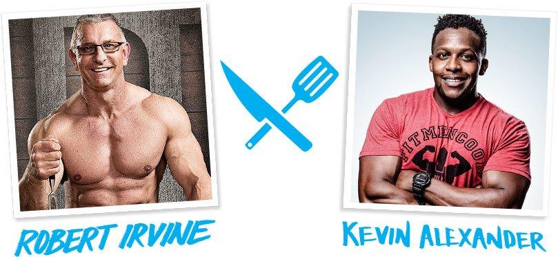 Robert Irvine and Kevin Alexander