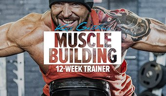 Kris Gethin's 12-Week Muscle Building Trainer