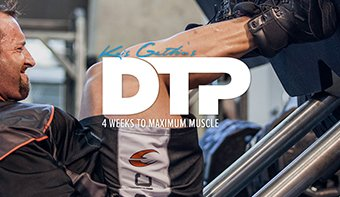 Kris Gethin's DTP Trainer - 4 Weeks To Maximum Muscle