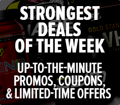 Strongest Deals of The Week - Up-To-The-Minute Promos, Coupons, and Limited-Time Offers