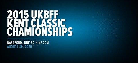 2015 UKBFF Kent Classic Championships