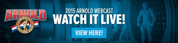 Watch the FREE 2015 Arnold Webcast!