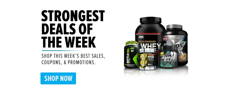Strongest Deals of The Week - Shop this week's best sales, coupons, & promotions. Shop Now