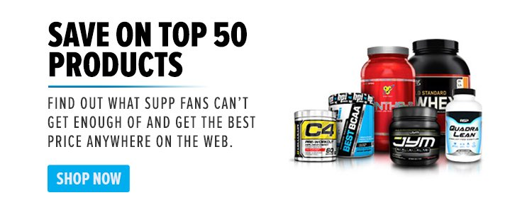 Save on Top 50 Products - Find out what supp fans can't get enough of and get the best price anywhere on the web. Shop Now