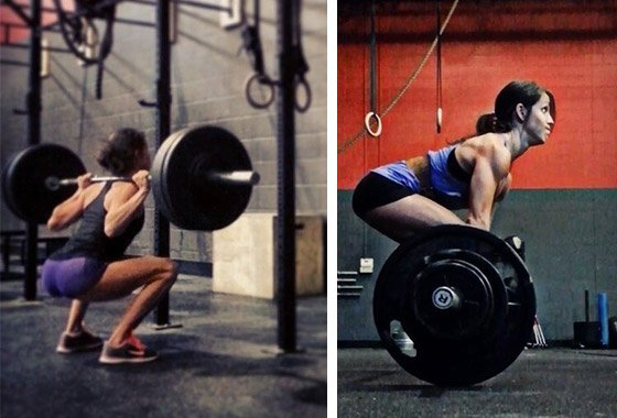 If You Want Tight And Toned Legs Don T Be Afraid To Lift Heavy With Lower Reps Says Personal Trainer Muscletech Athlete Lindsay Cappotelli