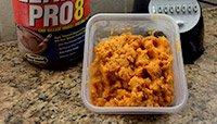 Lean Pro8 and sweet potato shake