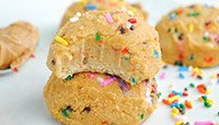 Confetti Cake Protein Cookies