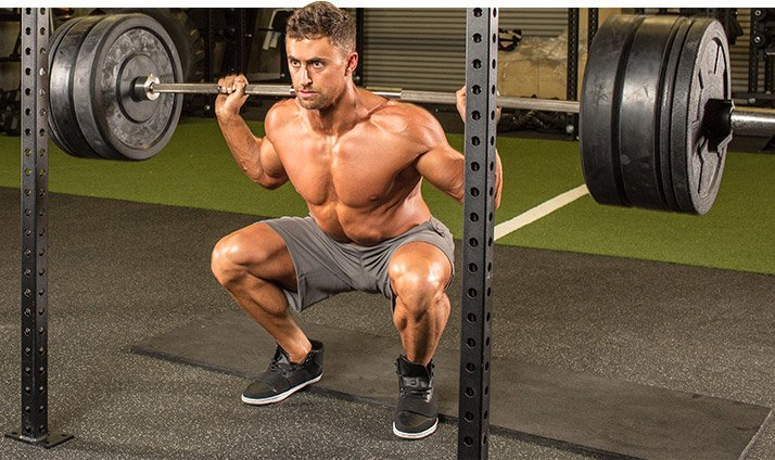 Workout 2 Begins With A Bang One Set Of 20 Rep Squat