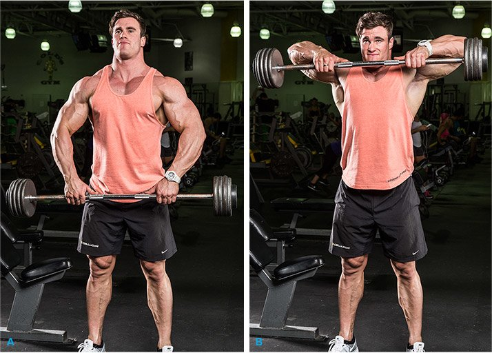 You Can Even Do Multijoint Upright Rows Which Also Ene The Middle Delts