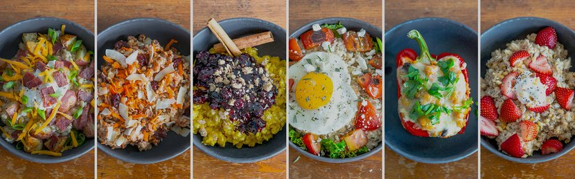 6 Sweet And Savory Oatmeal Recipes
