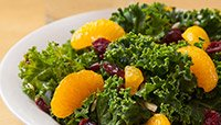 Mandarin and Kale Salad