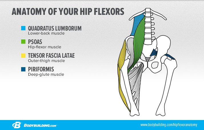 hip flexor abdominal strain