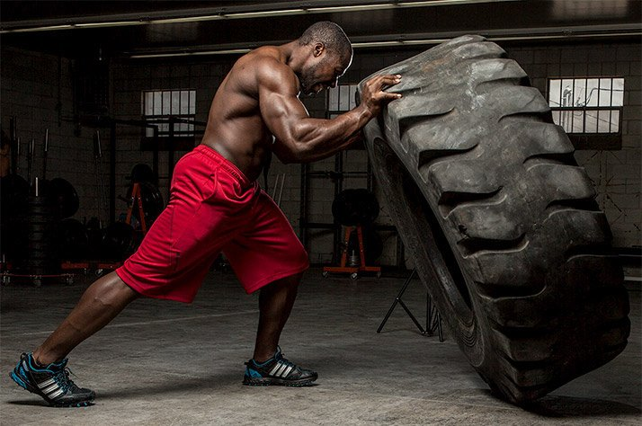 Are You Strong Enough For The Tire Flip