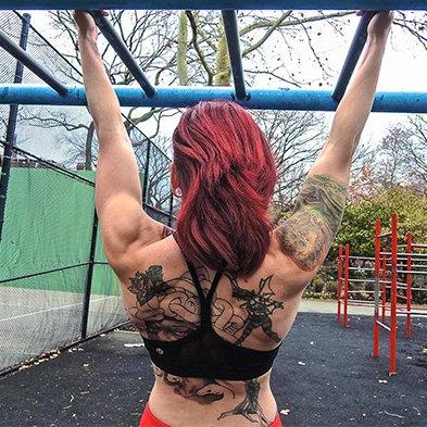 Single-arm hang