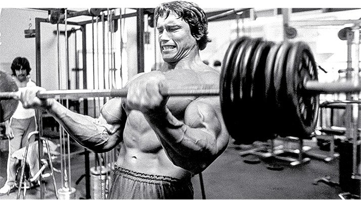 Arnold schwarzenegger blueprint trainer day 19 maybe it makes you think of arnolds famous monologue about the pump from the movie pumping iron but what he said in the book of the same name is just as malvernweather Choice Image
