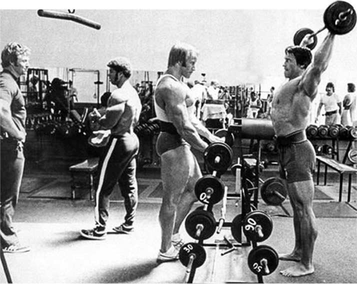 Arnold schwarzenegger blueprint trainer day 2 these double split days were one important way that arnold balanced his life with training ensuring that no particular body part got left behind malvernweather Choice Image