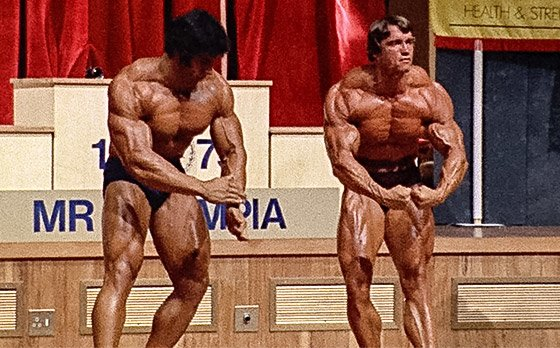 Arnold schwarzenegger blueprint trainer day 23 once arnold stepped onstage it became clear who was mr olympia malvernweather Image collections