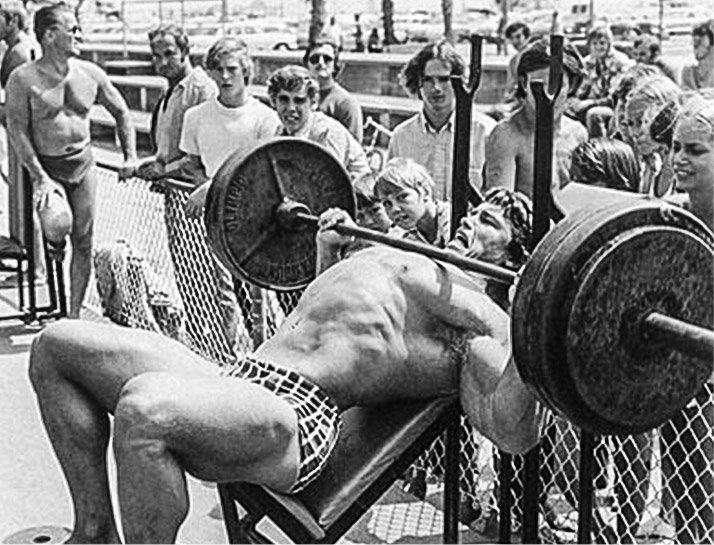 Image result for arnold venice beach