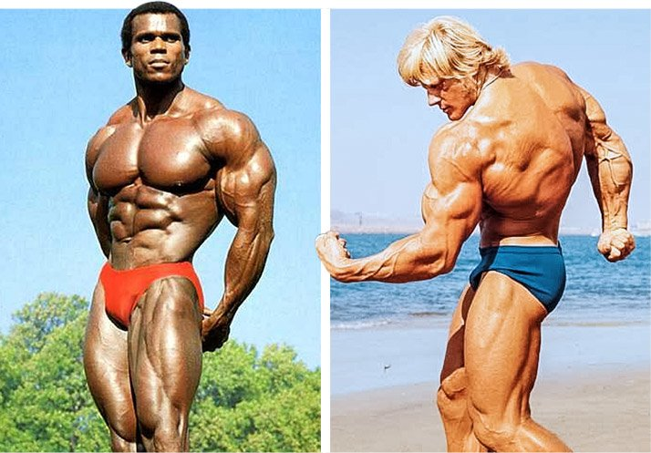 Arnold schwarzenegger blueprint trainer legacy arnold looked up to serge nubret left and dave draper right when he first came to america their excellence inspired the young austrian malvernweather Gallery
