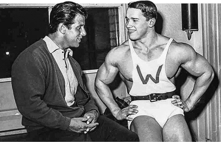 Arnold schwarzenegger blueprint trainer legacy to build a foundation for his body he followed parks training and nutrition regimens you can follow in arnolds footsteps for the next eight weeks malvernweather Gallery