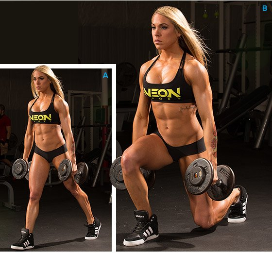 Ashley Hoffmann's High-Frequency Leg Workout