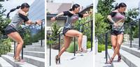Ashley Horner's Sucking-Wind Stair Workout!