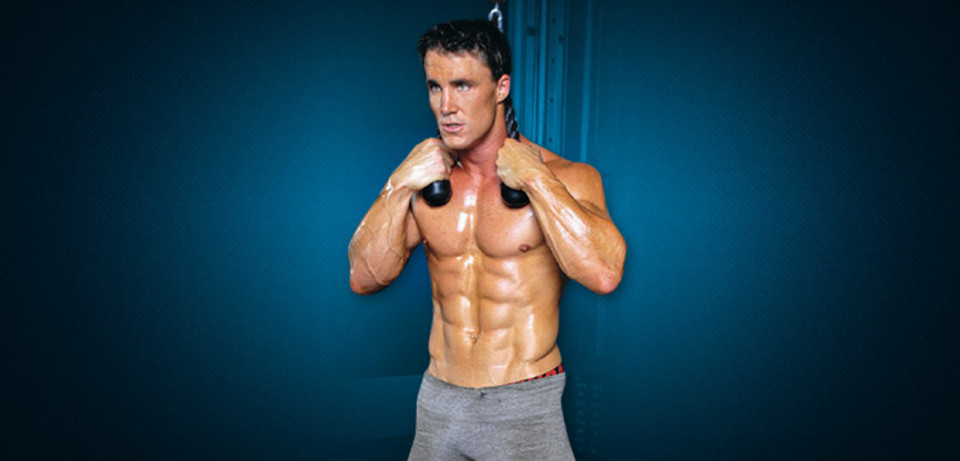 Athlete Workouts Inside The Gym: Greg Plitt Abs Workout