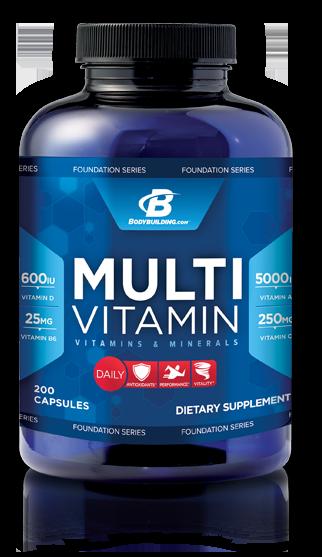 Multivitamin Bodybuilding.com Foundation Series - Lowest