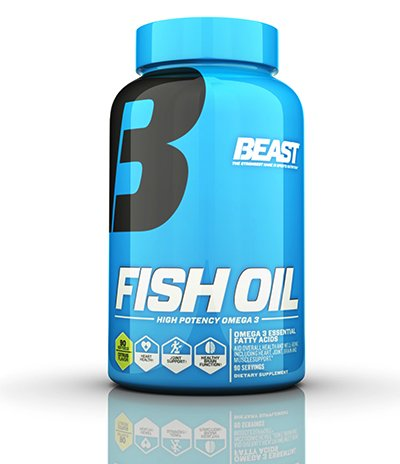 Beast sports 39 s fish oil at best prices for Fish oil benefits bodybuilding