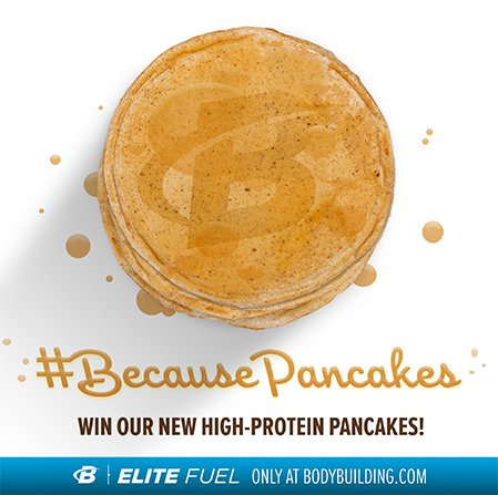 #BecausePancakes - Win Our New High-Protein Pancakes!