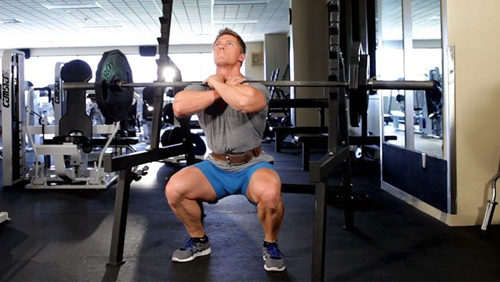 You probably won't be able to load the bar like you do for back squats. that's okay, You'll get the hang of it.
