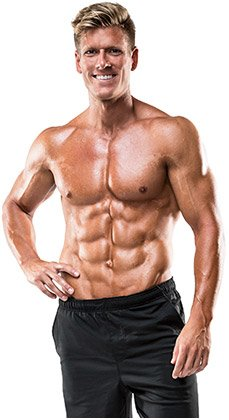Do short burst abdominal routines once per week and you will have a great six pack quickly.