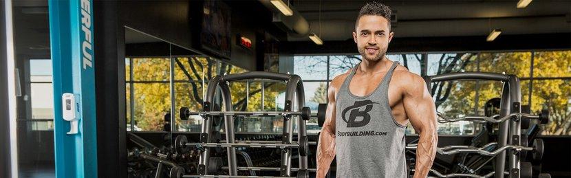 Amateur Bodybuilder Of The Week: Boás Has Brazilian Brawn!