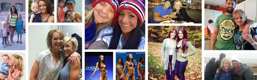 Bodybuilding.com Athletes Celebrate Their Moms