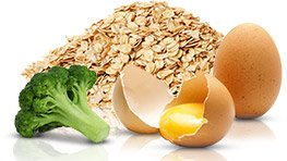 Your diet should be high in protein, complex carbs and fibrous carbs.