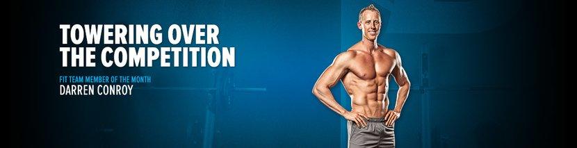 Bodybuilding.com Fit Team Member Of The Month: Darren Conroy